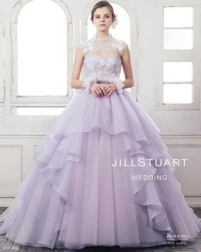 JILLSTUART WEDDING 2018婚纱系列​​​​