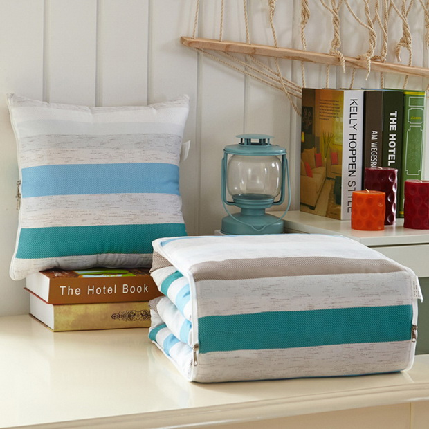Literary style pillow, soft to help you improve your home style